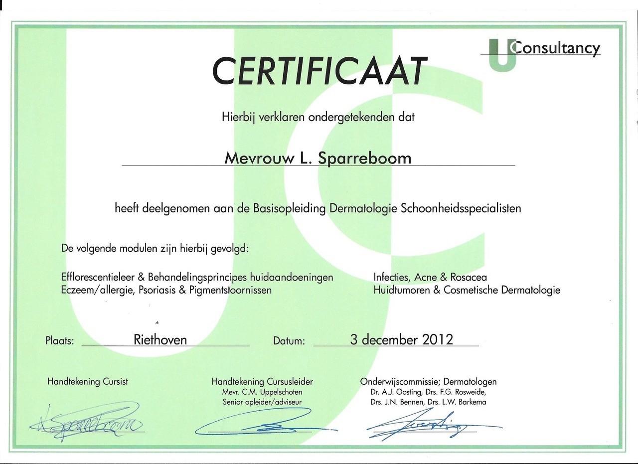 certificaat basis opleiding